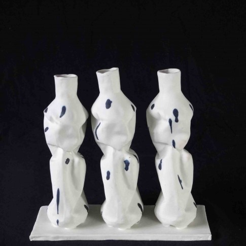 cat-trochu-ceramic-rennes-3 petites bouteilles