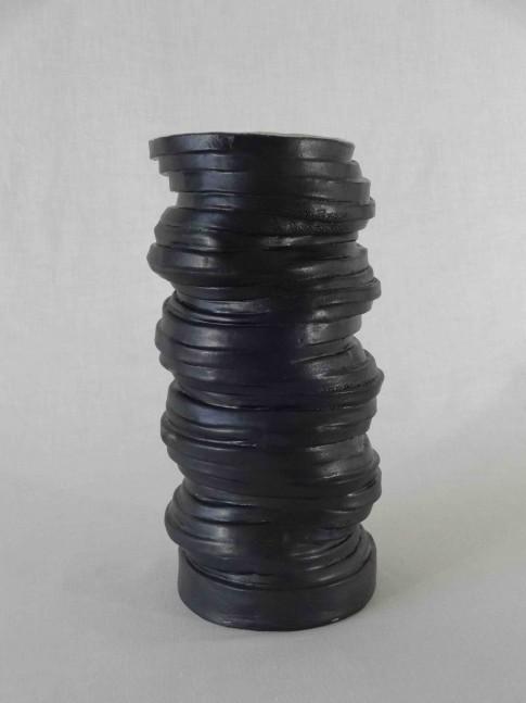 cat-trochu-ceramic-rennes-Anneaux noir
