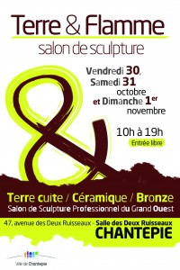 FLYER SALON SCULPTURE 2015 - Terre et Flamme