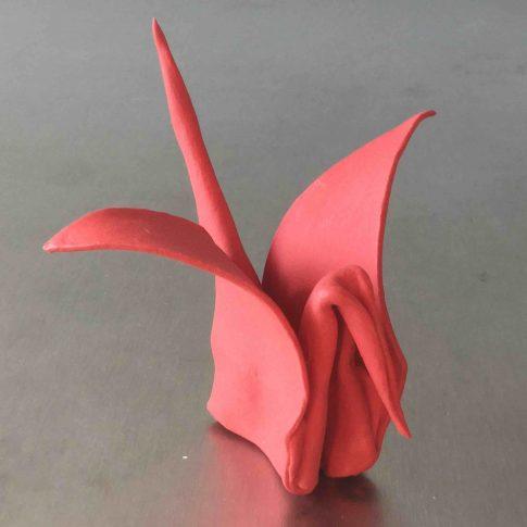 cat-trochu-ceramic-rennes-bretagne-2017-origami 1
