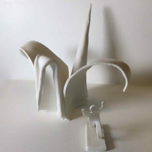 cat-trochu-ceramic-rennes-bretagne-sculpture-origami 1