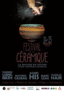 Affiche - Festival de la Céramique - Maison du Potier