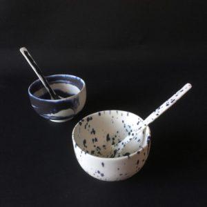 cat trochu ceramic-Rennes-bols-cuillères 3-porcelaine
