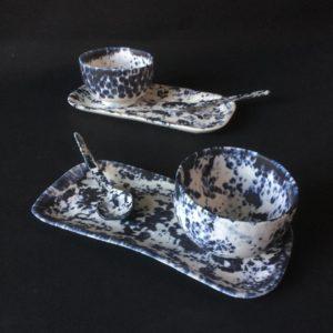 cat trochu ceramic-Rennes-bols-plats-cuillères 2-porcelaine
