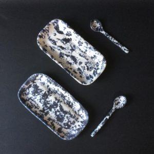 cat trochu ceramic-Rennes-plats-cuillères 4-porcelaine