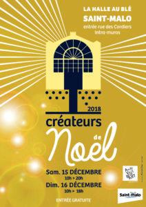 affiche A4 Halle au Blé Saint-Malo 2018