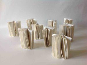 Livres en porcelaine