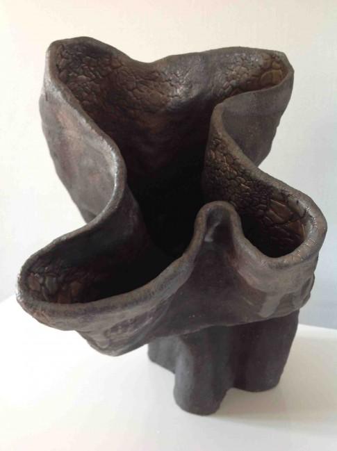 cat-trochu-ceramic-rennes-sculpture-noire