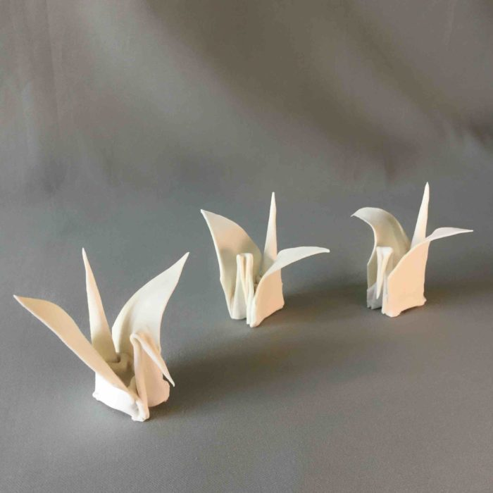 cat-trochu-ceramic-rennes-installation-galerie-2017-mai-origami 4