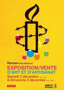 Amnesty_International-Noël_2018_Rennes