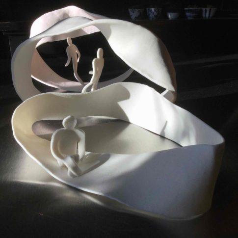 cat-trochu-ceramic-rennes-bretagne-porcelaine-sculpture-moebius 1