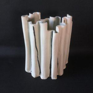 cat trochu ceramic-Rennes-vase bambou 1-grès