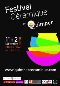 Affiche-Festival Céramique Quimper 2018