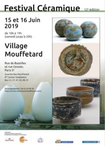 Affiche Festival Mouffetard 2019