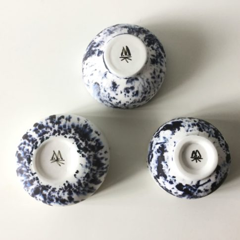 cat trochu-3 modèles de bols porcelaine