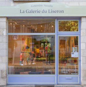 Galerie du Liseron vitrine
