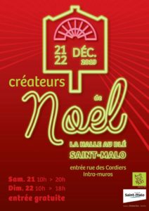 Marché de Noël-Halle au Blé Saint-Malo intramuros