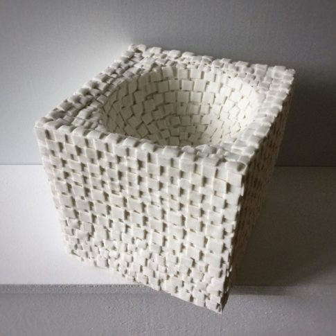 Quadrature du cercle 2-1-cat trochu ceramic-sculpture-sculpture